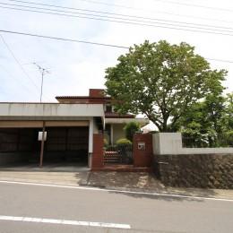 木造築30年「フルリノベーション+増築」で二世帯住宅に改築 OUCHI-23 (リノベーション前の様子)
