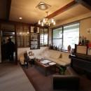 木造築30年「フルリノベーション+増築」で二世帯住宅に改築 OUCHI-23の写真 室内ビフォア