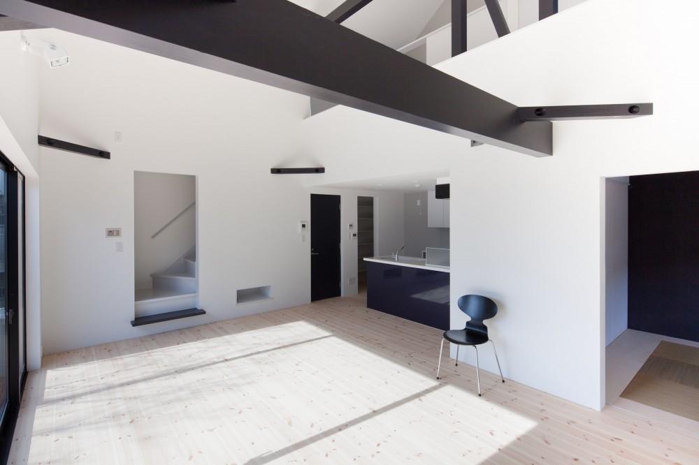 木造築30年「フルリノベーション+増築」で二世帯住宅に改築 OUCHI-23 (子世帯リビング)