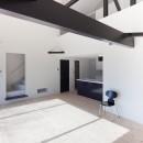 木造築30年「フルリノベーション+増築」で二世帯住宅に改築 OUCHI-23の写真 子世帯リビング