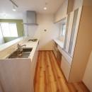 色彩豊かな南欧風の家の写真 キッチン