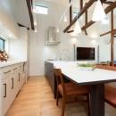 光と風があふれる家に『まるごと再生』の写真 【キッチンAfter】