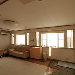 東京中野 N邸リノベーション (リノベーション前の2階リビング)