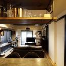 自分らしくビンテージマンションで暮らすの写真 キッチン~リビング
