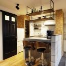 自分らしくビンテージマンションで暮らすの写真 キッチン