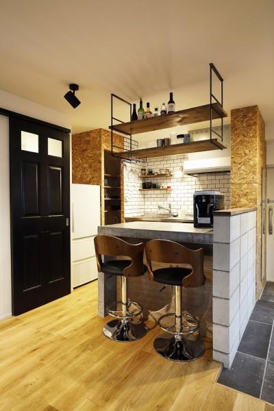 キッチン (自分らしくビンテージマンションで暮らす)