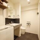 自分らしくビンテージマンションで暮らすの写真 洗面 トイレ