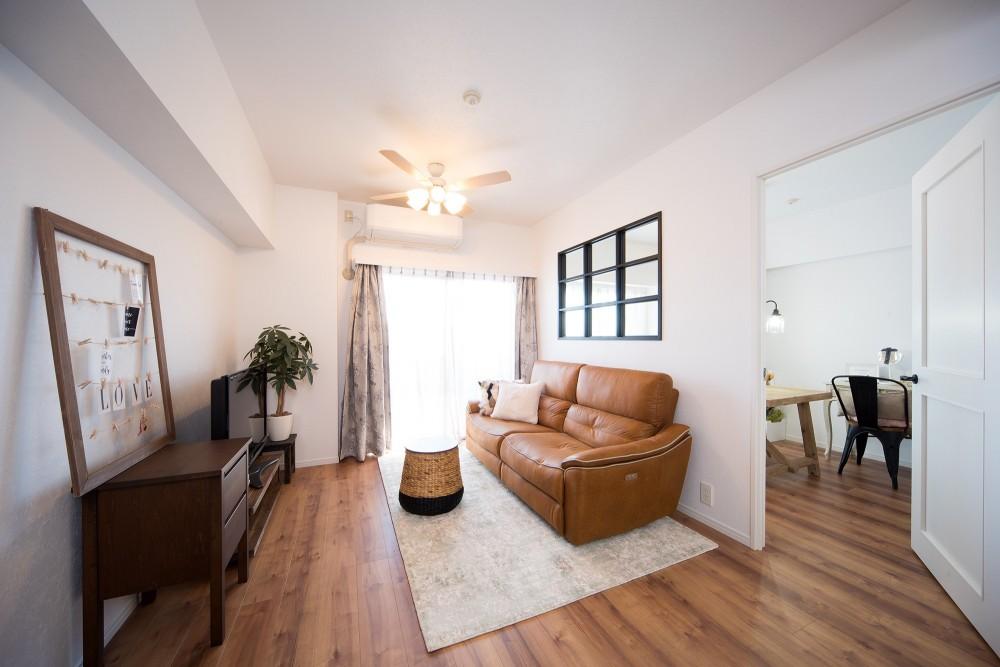 東京都北区・「自宅の仕事部屋をリフォームしたい」との相談から (リビング)