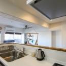 自然素材の家の写真 キッチン