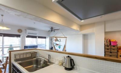 自然素材の家 (キッチン)