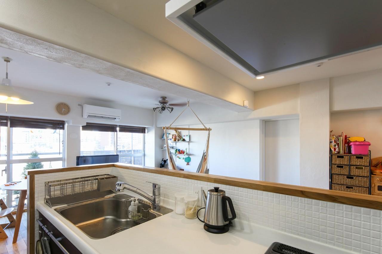 キッチン事例:キッチン(自然素材の家)