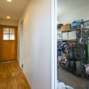 自然素材の家の写真 収納部屋