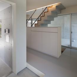 南馬込の住宅 (玄関)