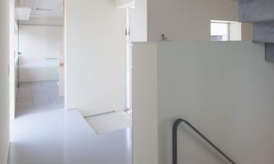 南馬込の住宅 (階段)