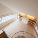 南馬込の住宅の写真 3階螺旋階段