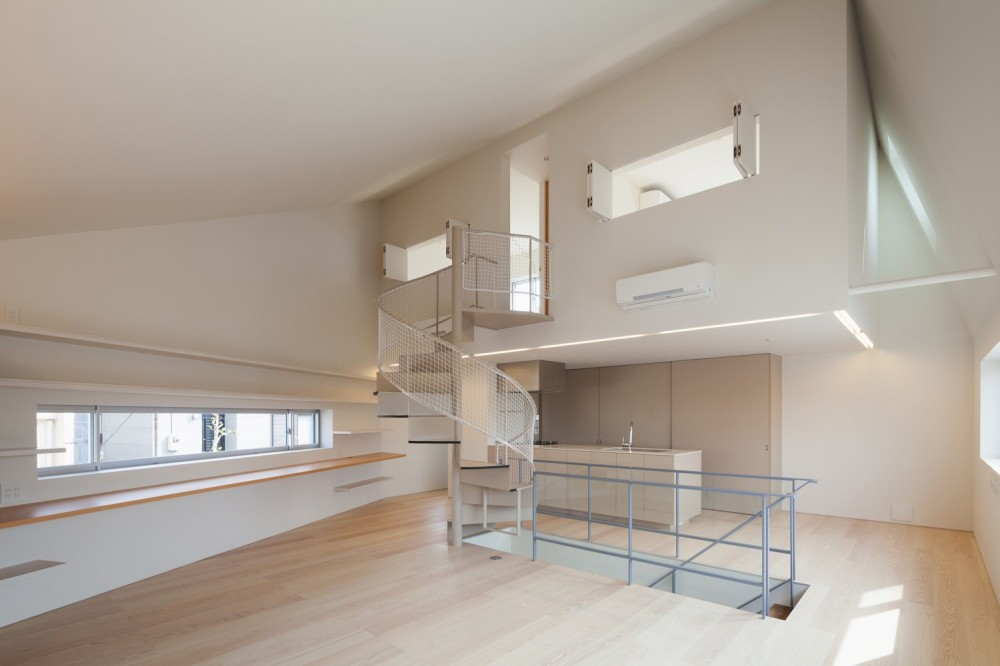 南馬込の住宅 (2階LDKスペース)