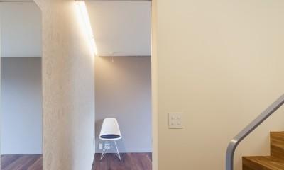 南馬込の住宅 (地下寝室)