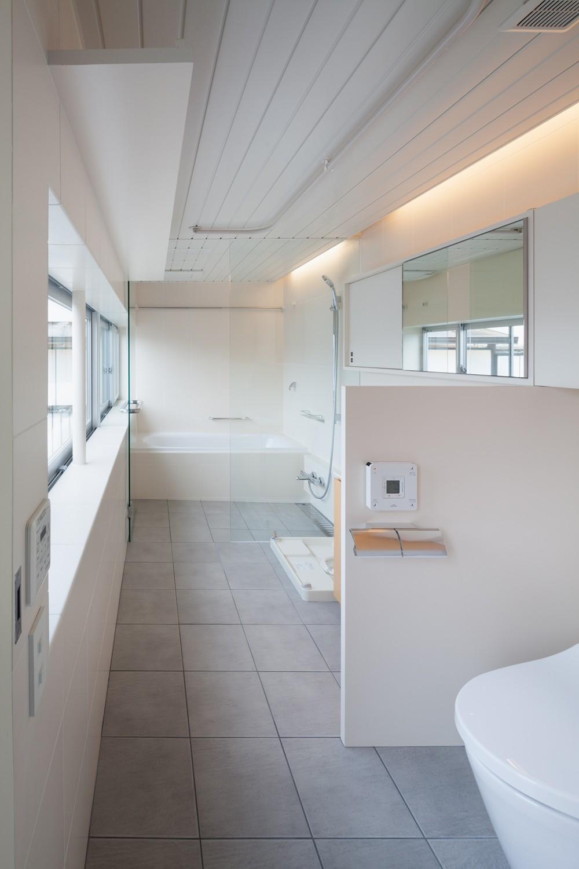 バス/トイレ事例:1階水回り(南馬込の住宅)