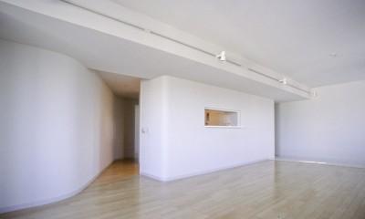 個室への入り口|東京中野 ミニマル・シンプルな空間へマンションリノベーション