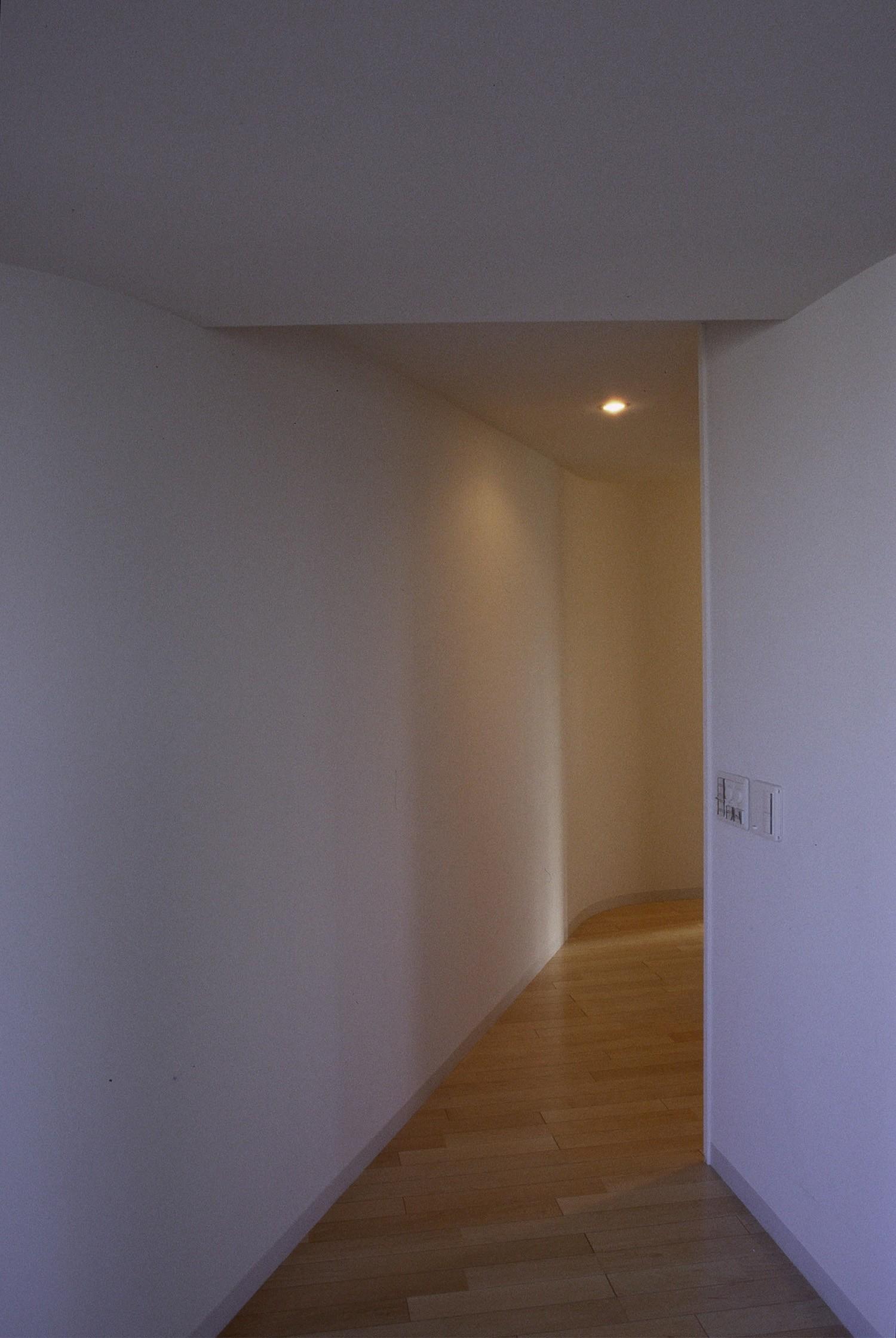 その他事例:廊下(東京中野 ミニマル・シンプルな空間へマンションリノベーション)