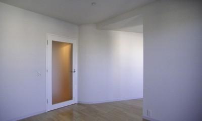 東京中野 ミニマル・シンプルな空間へマンションリノベーション (主寝室)