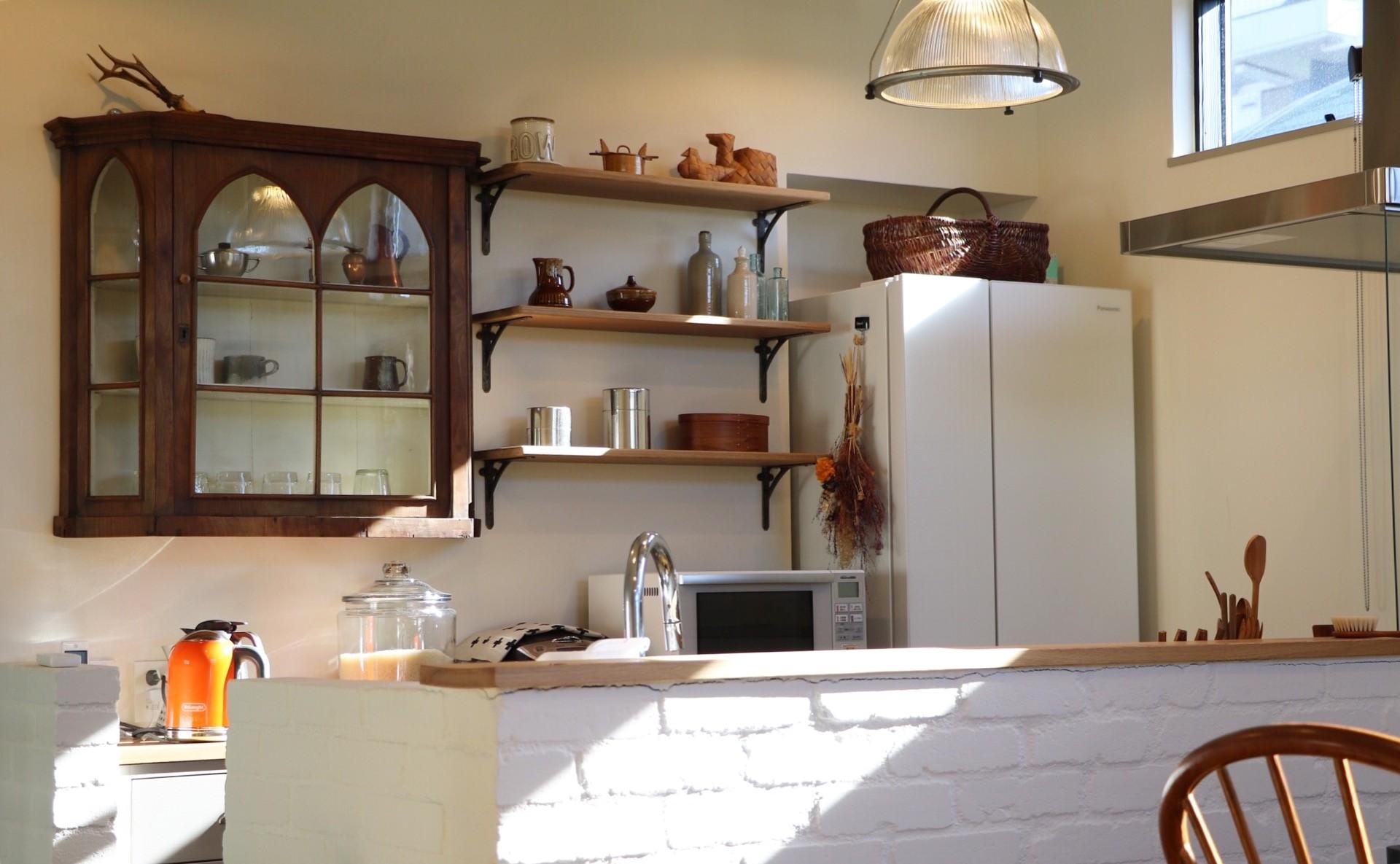 キッチン事例:キッチン(こもれびハウス)