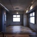黒皮鉄板の家〜鉄板で間仕切り壁をつくる〜の写真 space1