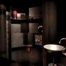 アトリエ・ドンの住宅事例「黒皮鉄板の家〜鉄板で間仕切り壁をつくる〜」