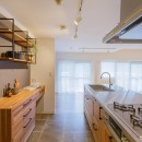箱デコの住宅事例「キッチンから変わる暮らし」