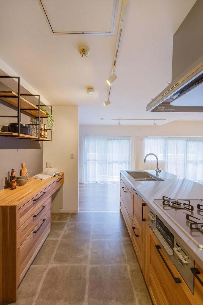 キッチン事例:キッチン(キッチンから変わる暮らし)