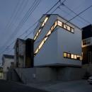 デザイン住宅外観いろいろの写真 斜め窓の家 OUCHI-06
