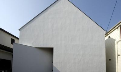 デザイン住宅外観いろいろ (狭小二世帯住宅 ミニマルデザインの家 OUCHI-01)