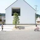 デザイン住宅外観いろいろの写真 鳥取のミニマルデザインの家 OUCHI-02