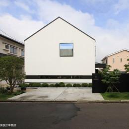 デザイン住宅外観いろいろ (仙台SOHOの家 OUCHI-18)