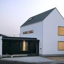 デザイン住宅外観いろいろの写真 島根の家 OUCHI-22