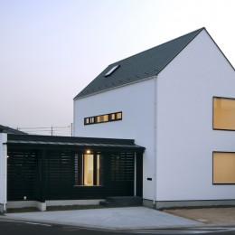 デザイン住宅外観いろいろ (島根の家 OUCHI-22)