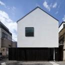 デザイン住宅外観いろいろの写真 東京中野 本棚のある家 OUCHI-26