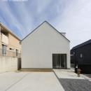 デザイン住宅外観いろいろの写真 愛知 広い土間玄関の家 OUCHI-35