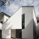 デザイン住宅外観いろいろの写真 折り紙をヒントにした家 OUCHI-37