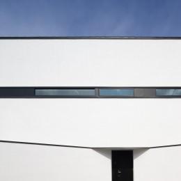 デザイン住宅外観いろいろ (福島 屋上バルコニーのある家 ハコノオウチ06)