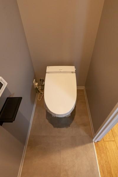 暮らしのシーンを彩る家 (高級トイレはしっかりと)