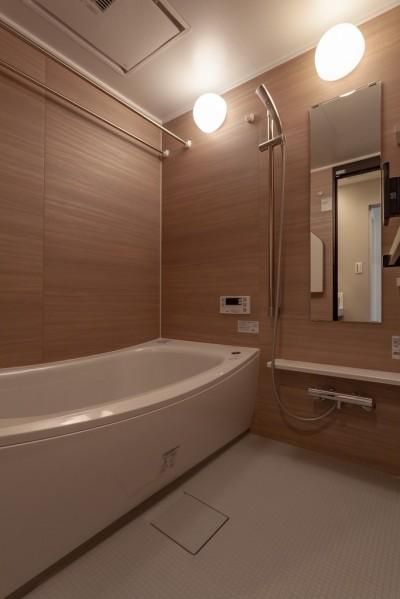 バスルームは広めに (暮らしのシーンを彩る家)