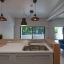 暮らしのシーンを彩る家の写真 キッチンは使いやすさ