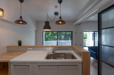 キッチンは使いやすさ (暮らしのシーンを彩る家)