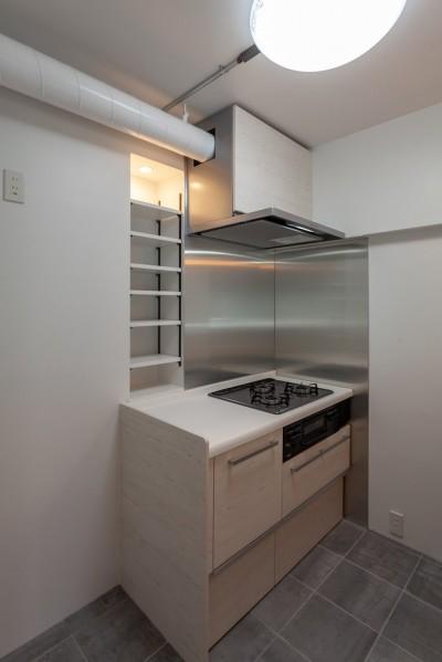 調理スペースはしっかりと確保 (暮らしのシーンを彩る家)