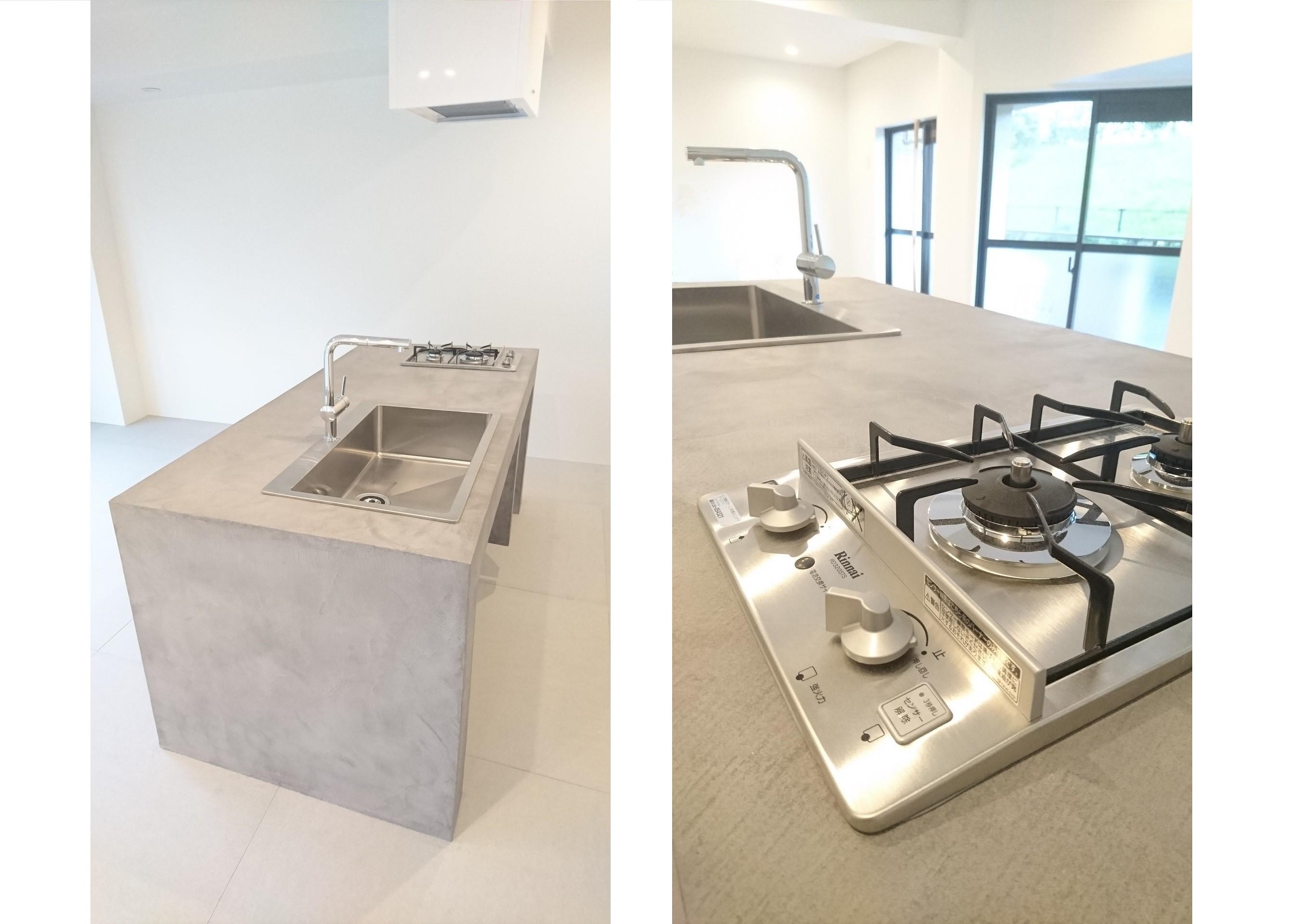 キッチン事例:オリジナルキッチン(とことん「好き」を追及する住まい)