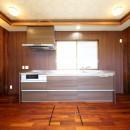 縁側で夏を感じる家の写真 キッチン