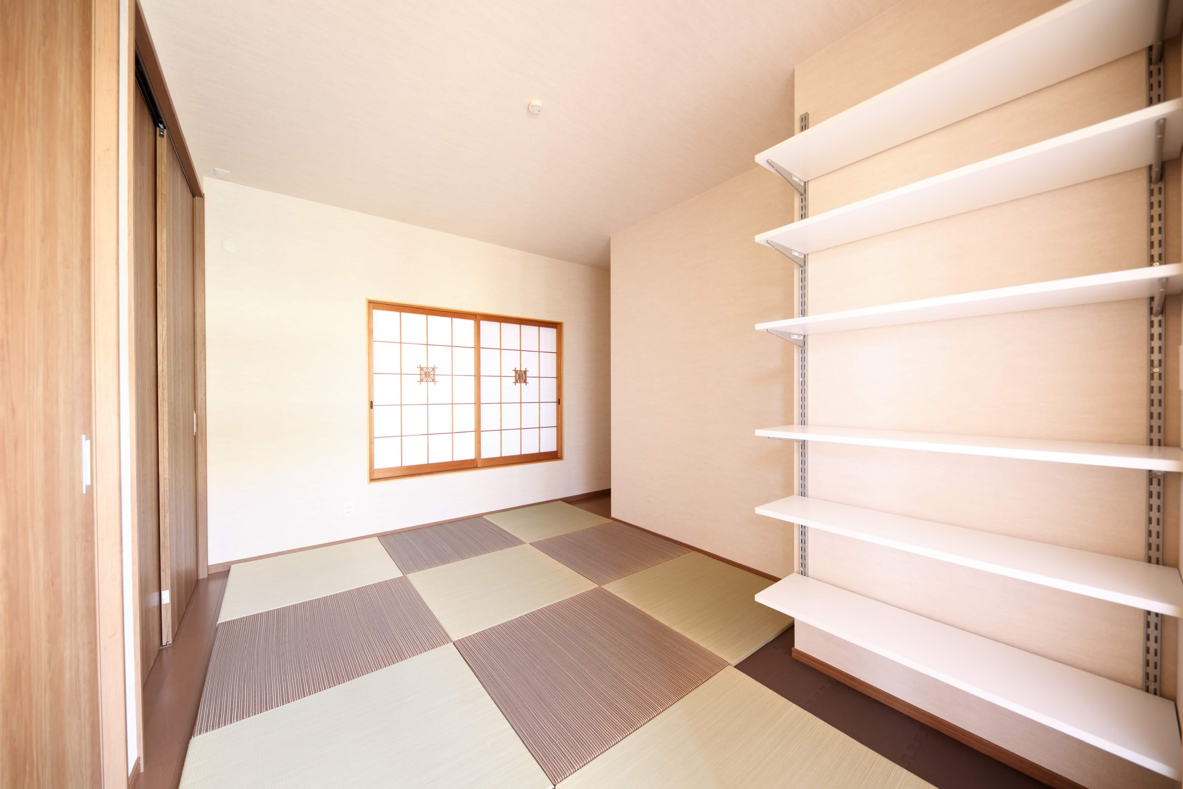 ベッドルーム事例:寝室(縁側で夏を感じる家)