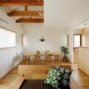 北寺尾の家〜LDKを作るリノベーション〜の写真 リビングダイニング