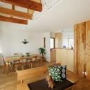 北寺尾の家〜LDKを作るリノベーション〜の写真 LDK